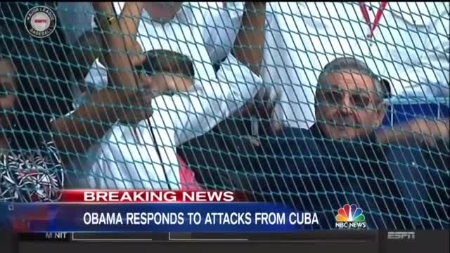 NBC: Obama And Castro 'Just Two Fans Sharing a Pastime'