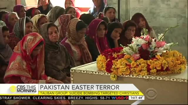 CBS This Morning on Easter Christian Bombing