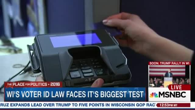 MSNBC Misleads Viewers with Wisconsin Voter ID; Fails to Mention State Issues FREE Identification