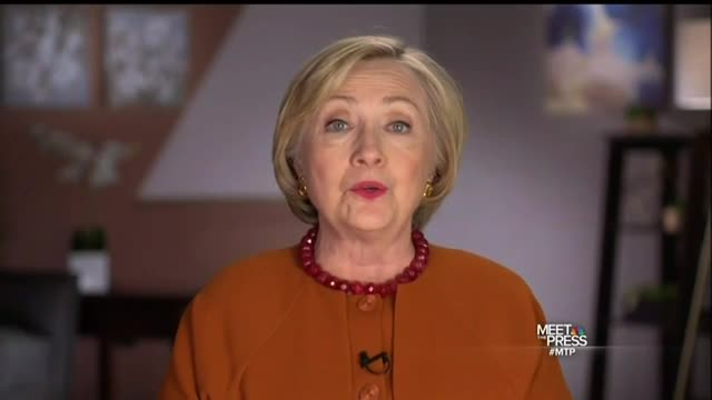 Hillary Clinton's Abortion Comments on 'Meet the Press'
