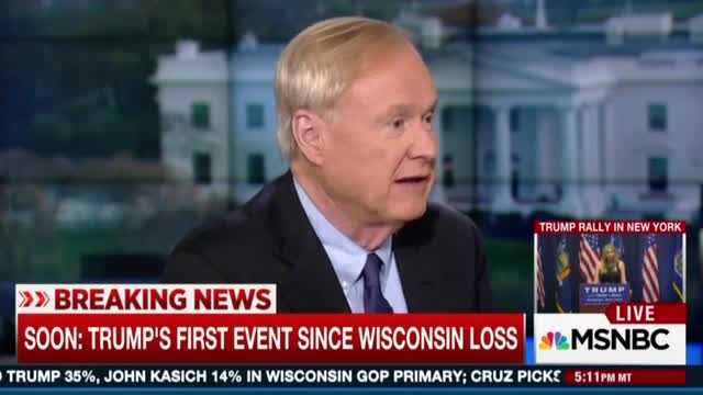 Matthews Misrepresents What 'Simon Pure Right-Winger' Cruz Means by 'New York Values'