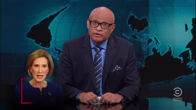 Larry Wilmore: Carly Causing Women to Lose