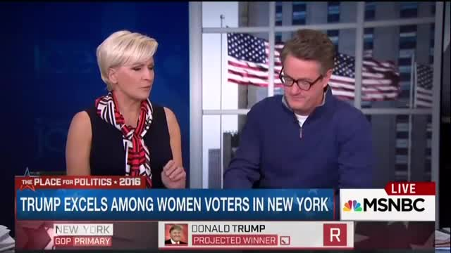 Mika's Horrified Expression While Explaining Why She Doesn't Think Women Will 'Flock' to Ted Cruz