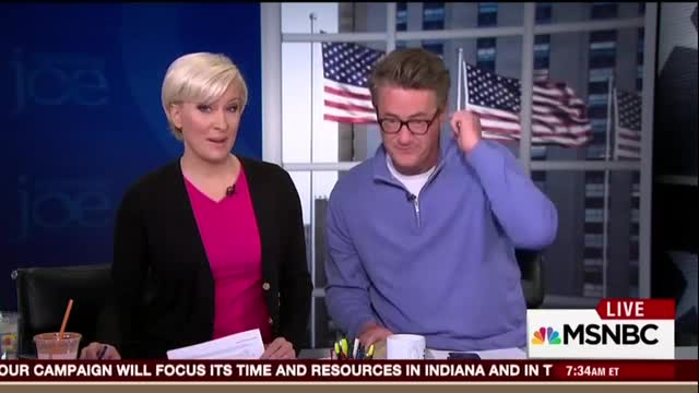 Scarborough's Love Letter to Hillary's Foreign Policy Leadership