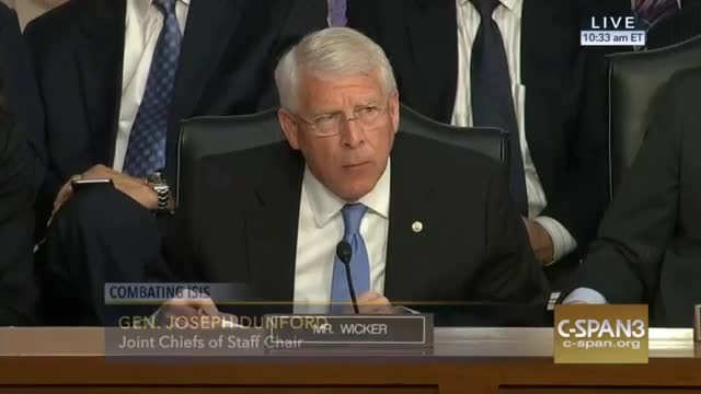 Sen. Wicker Wonders If Obama Needs War Declaration to Take Out Assad's Air Force
