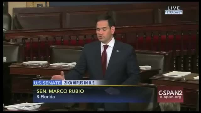 Rubio Calls on GOP to Approve $1.9 Billion Emergency Zika Funding