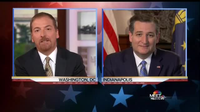 Ted Cruz Calls Out Liberal Media for Trump Bias on 'Meet the Press'