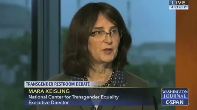 Transgender Activist: 'In North Carolina, They're Calling 1st and 2nd Graders Sexual Predators'