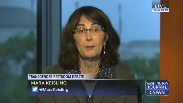 Transgender Activist: Bathroom Issue 'A Ginned Up Problem' - 'We're Being Bullied'