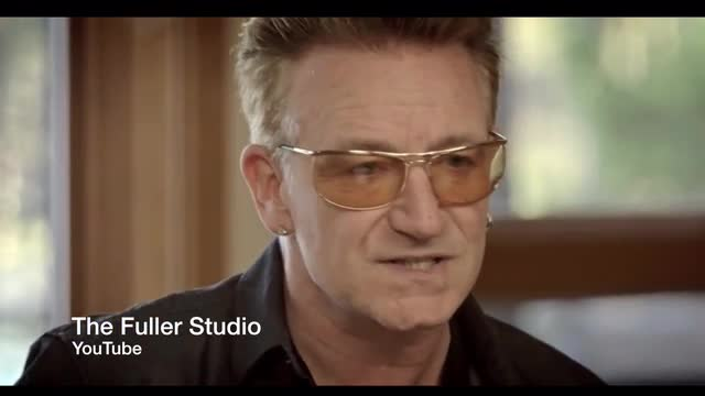 Bono: Write A Song 'How They're Pi--ed Off at The Gov't, Because That's What God Wants'