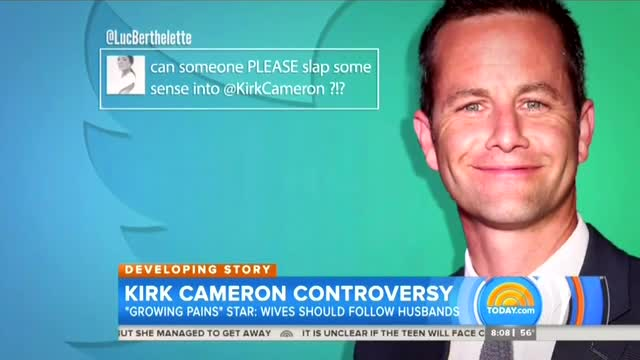 NBC Hypes 'Growing Backlash' Against Kirk Cameron for Stating Biblical View on Marriage
