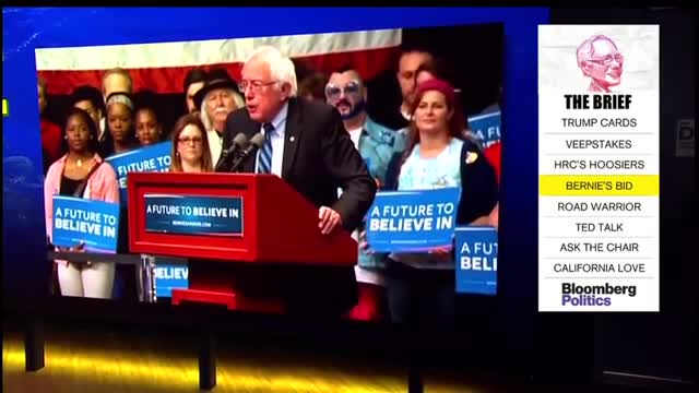 Captionfest: Who's That Guy With the Crazy Glasses Standing Behind Bernie?