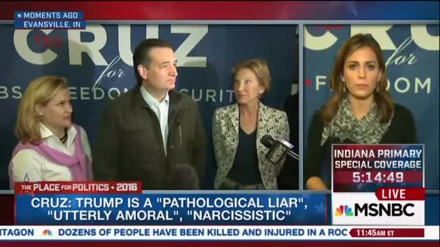 MSNBC's Tamron Hall on Ted Cruz: 'Is This a Man Unraveling?'