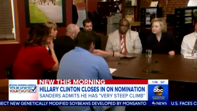 Nets Finally Notice Hillary Coal Comments After Miner Confronts Her