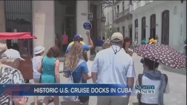 NBC Reporter Races to Cuba Before Americans Destroy It