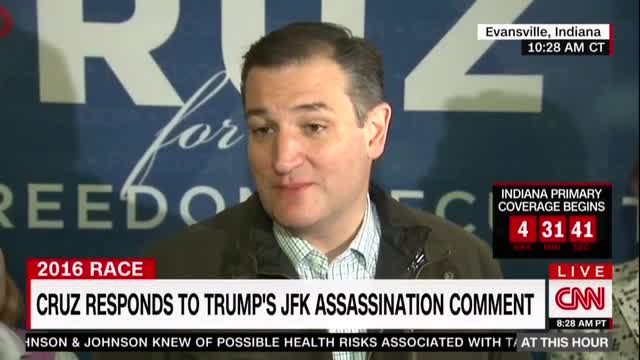 Cruz Unloads on Trump After JFK Accusation