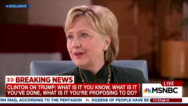 In 20-Minute Interview With Hillary, Andrea Mitchell Spends 17 Secs on E-Mail Scandal
