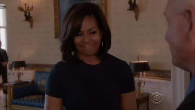 Michelle Obama Talks Dedication to Vets, Families in 'NCIS' Cameo
