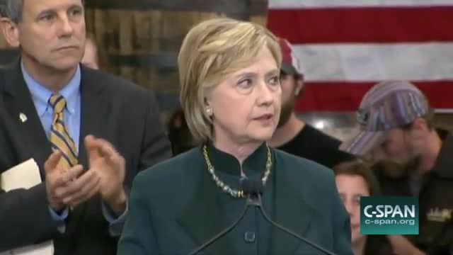 Clinton: 'We Need to Invest in Coal Communities'; 'That Means Coming Together, Making a Real Plan'