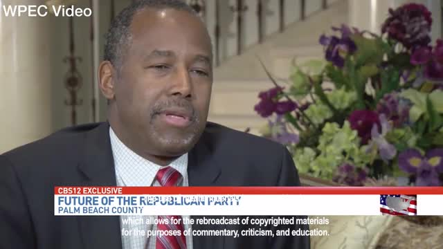 Carson Expects Trump/Clinton Debates 'To Be WWE Raw'