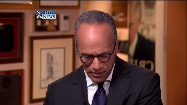 Lester Holt Hammers Trump Repeatedly While Asking Hillary If Her 'Feelings Get Hurt'