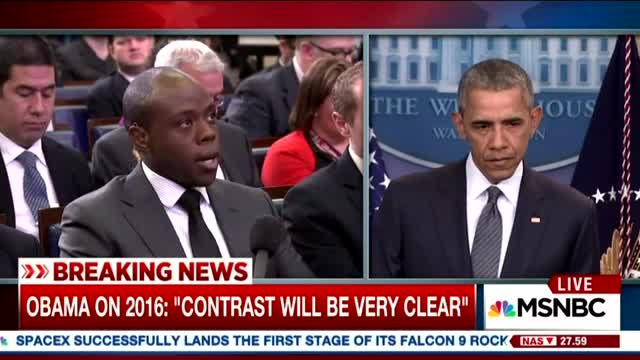 Reporters Lob Softballs to Obama, He Tells Them How to Cover Campaign