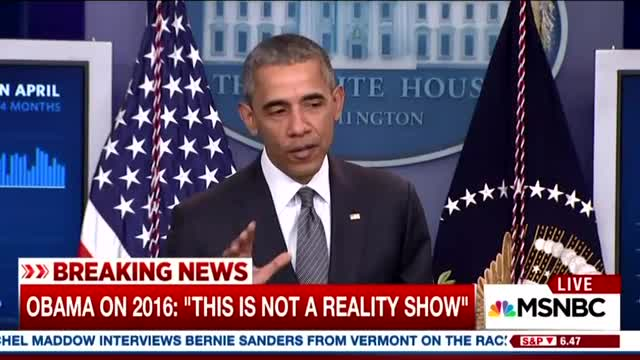Obama Tells Reporters How He Wants Them to Cover Campaign