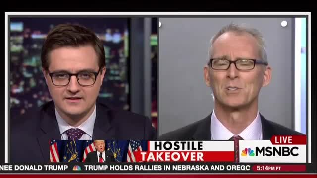 Chris Hayes: Trump 'Hot Wet Rag Applied To Infected Wound'