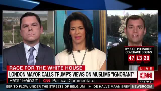 CNN's Beinart: World Leaders Should Avoid US if Trump Bans Muslim Immigration