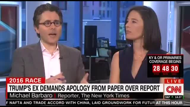CNN Confronts NYT Reporters After Trump's Ex Rips 'Misleading' Report