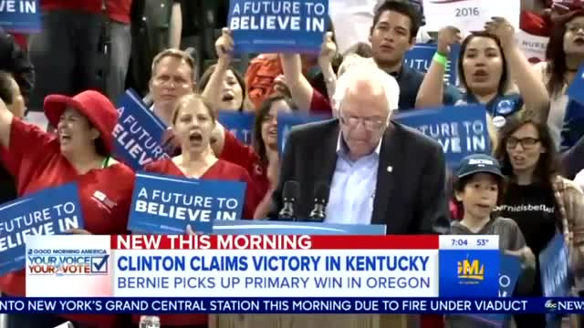 Nets Fret Over Sanders 'Not Going Quietly,' Hurting Hillary