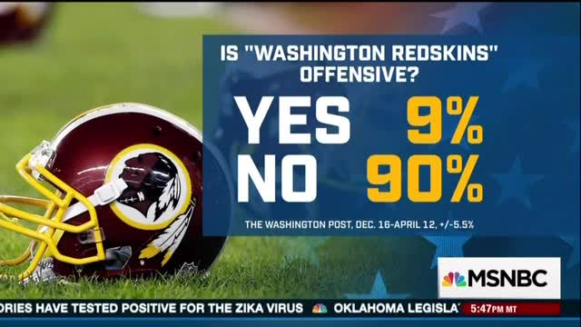 Networks Duck and Cover, Ignore WashPost Poll on Native Americans Not Being Offended by 'Redskins'