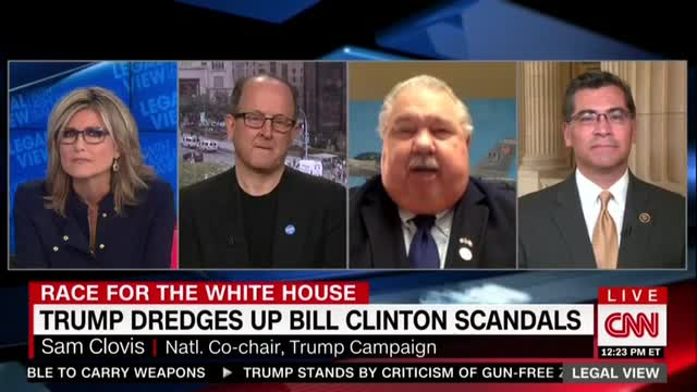 CNN's Banfield Defends Hillary on Intimidating Women, Bristles at Cosby Ref
