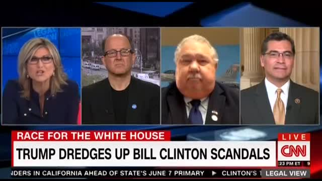 CNN's Banfield Outraged By Trump Bringing Up Clinton Sex Scandals
