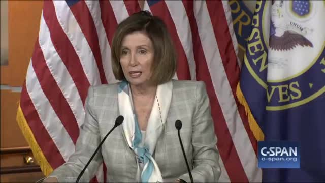 Pelosi: 'I'm So Proud of Our President' Who Will 'Again Show Power of His Moral Courage'