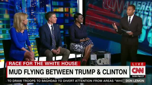 CNN's Lemon Seems Uninformed in Hillary Role in Intimidating Women