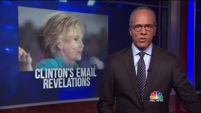 NBC, ABC Cover for Hillary After Release of Damaging E-Mail Report