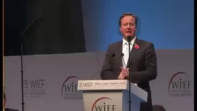 Flashback: British PM Wants London to Be a World Capital of Shari'a-Compliant Finance