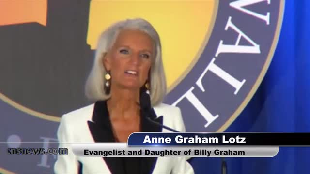 Anne Graham Lotz: 'God is Bringing Judgment on America' -- For Sin, Immorality and Wickedness