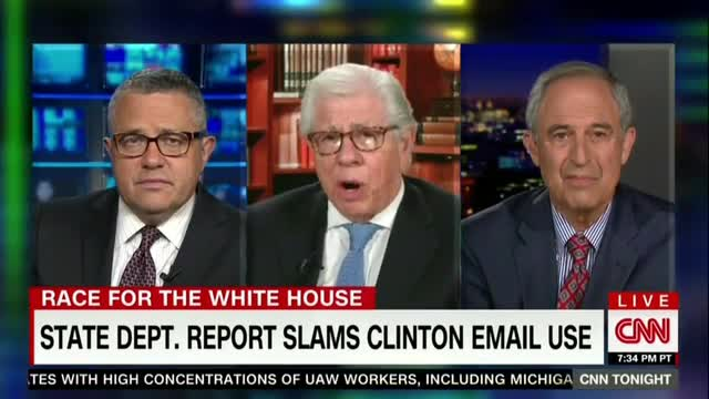 Bernstein: Hillary Was 'Evading' w/ Email; Toobin Hedges on Saying 'Lying'