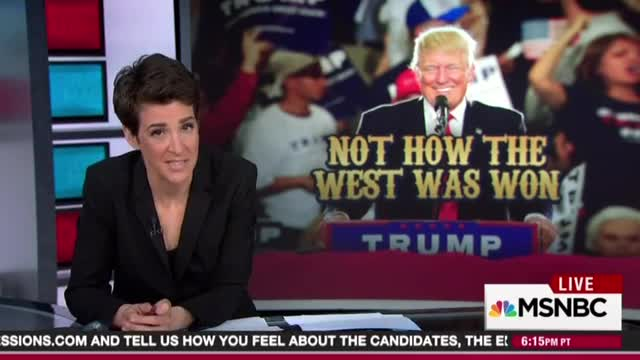 Rachel Maddow condemns anti-Trump violence, worries that it might hurt Democrats