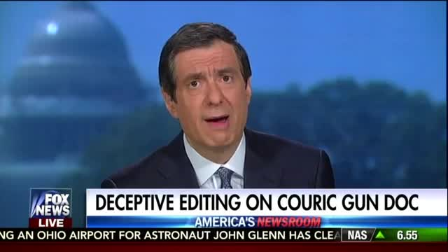 Kurtz on Couric's Gun Scandal: 'You Are Blowing a Hole in the Credibility of Your Work'
