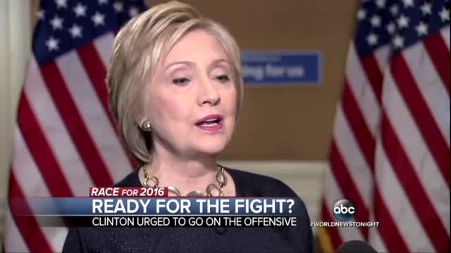 ABC Worries Hillary Is Not Fight Back Hard Enough Against Trump