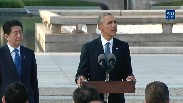 Obama Urges 'Moral Awakening,' Says 'Ordinary People...Do Not Want More War'