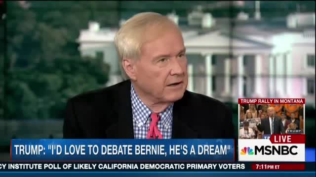 Matthews Dreams That Bernie 'Will Give a Wonderful Soliloquy' in Trump Debate on Health Care