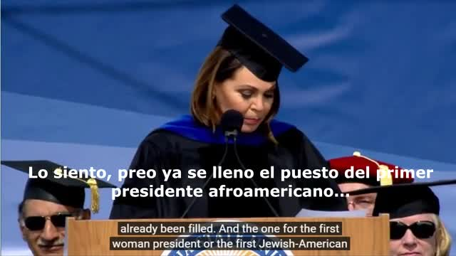 Univision Anchor Booed After Making Anti-Trump Statement At Commencement Speech