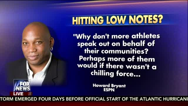 ESPN's Bryant: 'Authoritarian Shift at the Ballpark' When Cops Sing National Anthem