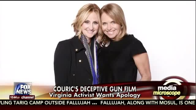 FNC's Kurtz Shows Couric's Deceptively Edited Anti-Gun Video