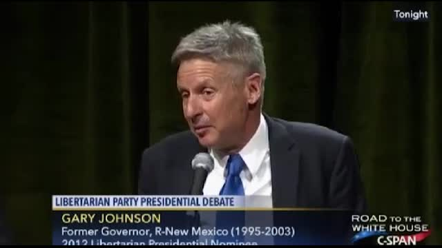 Gary Johnson: Libertarians Agree with Dem Professor's 75% of the Time