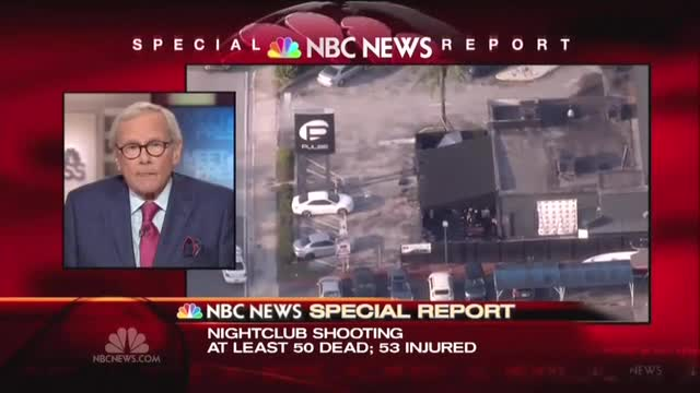 Brokaw on Orlando: In U.S. 'Everything Seems To Get Settled By a Gun'